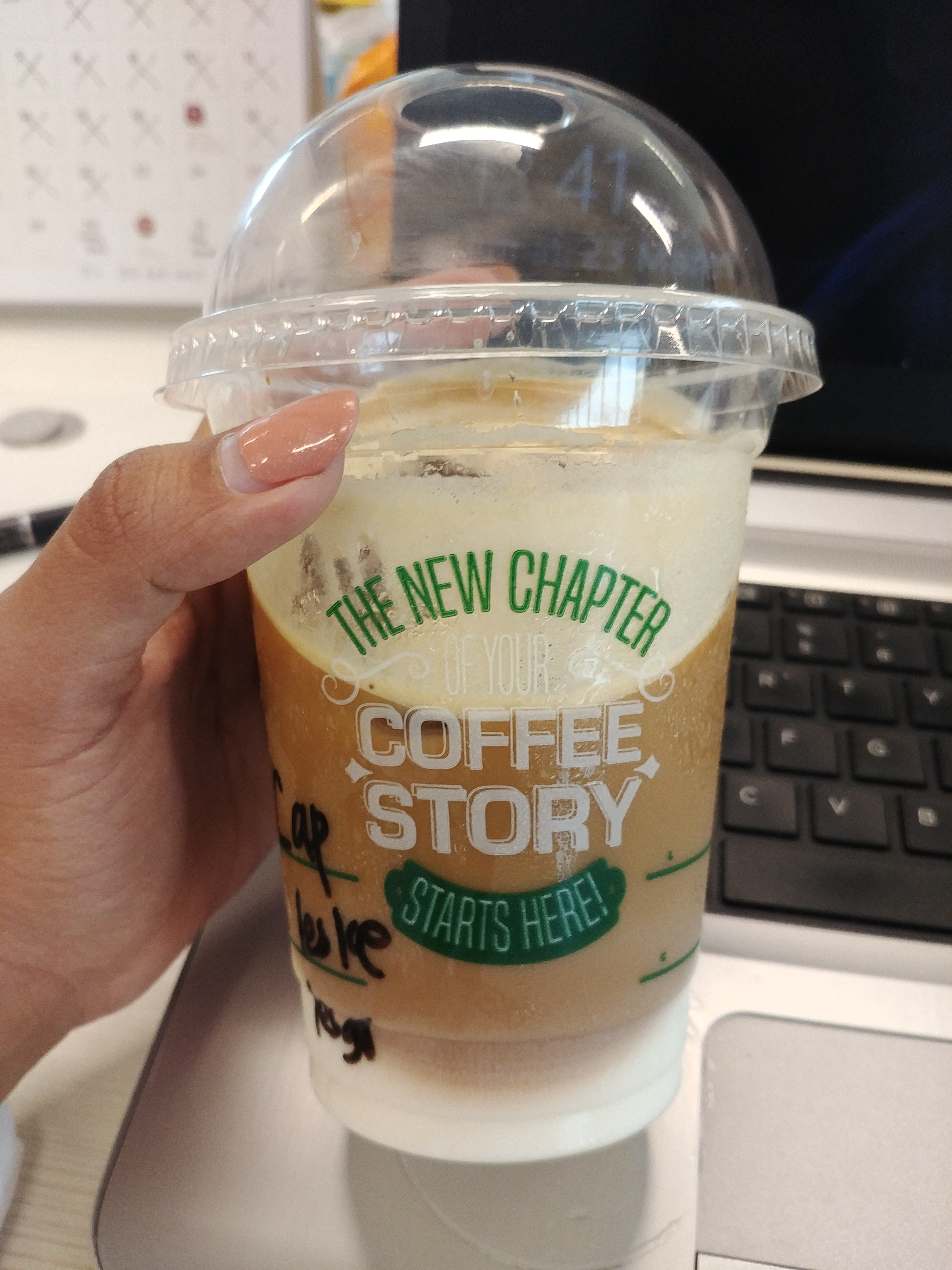 Coffee Story Family Mart Viewvinder